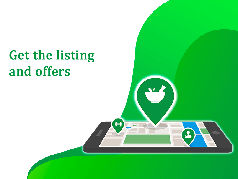 get all the listing of near by local pharmacy with discount